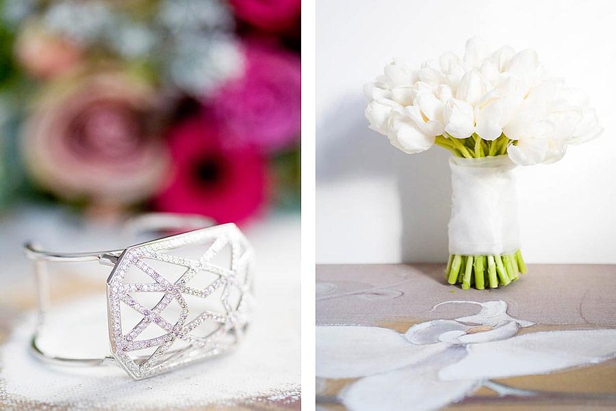 Bridal Flowers and Wedding Jewelry