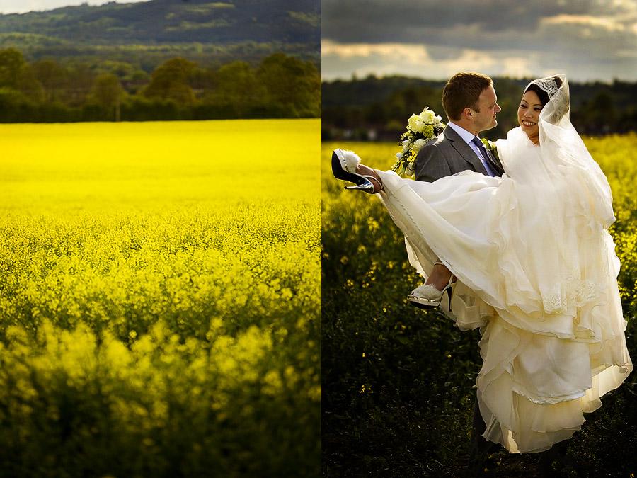 Creative wedding photography in Surrey