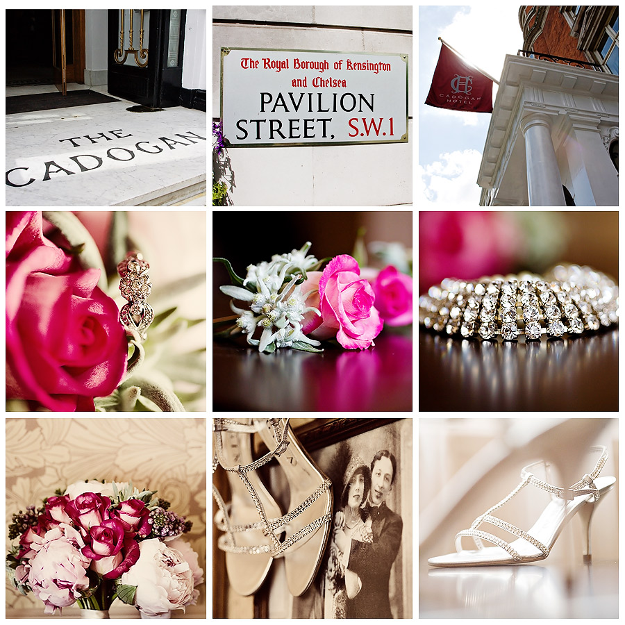 Wedding Details London Cadogan Hotel